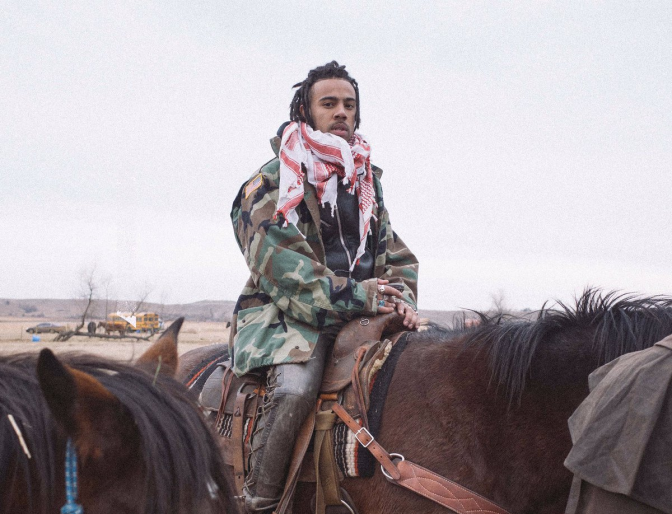 Vic Mensa Calls Out Police Brutality and Standing Rock
